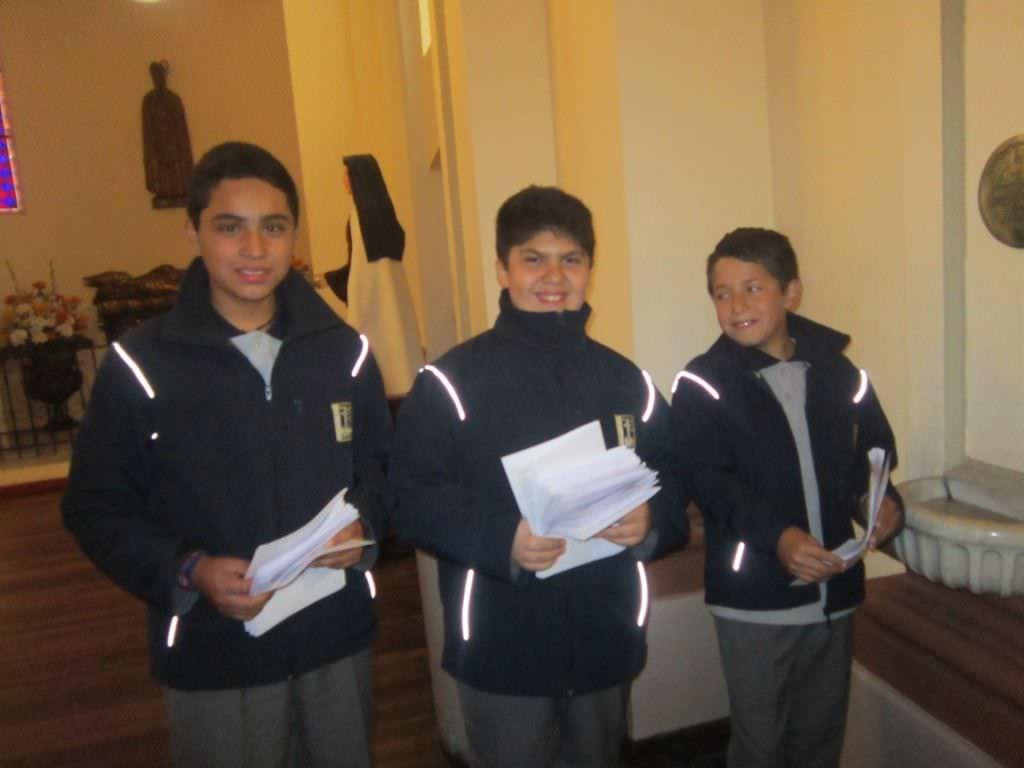 Padres,apoderados y alumnos(as ) invitados a participar de la Eucaristía de Nuestra Fundadora :Santa Luisa de Marillac