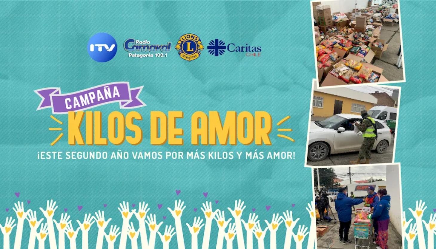 """Apoyemos La Campaña """"Kilos de Amor"""""""