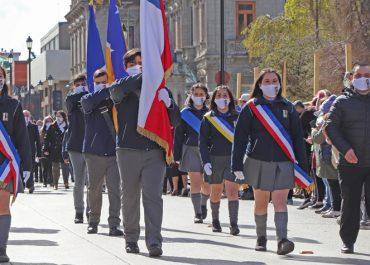 """Desfile del """"Día de la Oración por Chile"""""""